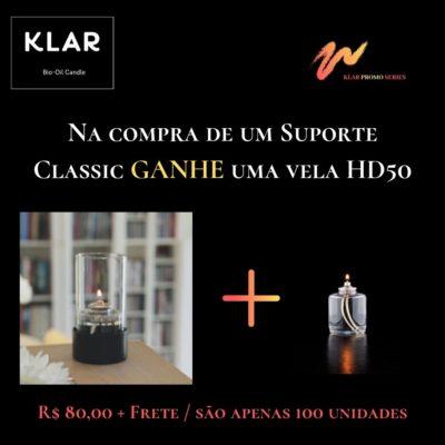 Suporte Classic + Vela HD50