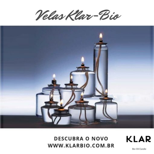 kit 8 velas - klar